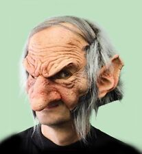 Funny Troll Gobblin Old Man Adult Halloween Mask Eat Drink & Party While Wearing