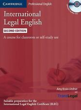 International Legal English Student's Book with Audio CDs (3): A Course for Clas