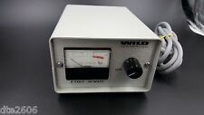 WILD HEERBRUGG 990018 MICROSCOPE POWER SUPPLY 120V 50W 60Hz