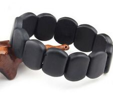 Natural Black Jade Nephrite Bracelet Byanshi Bian shi Protection Браслет Бяньши
