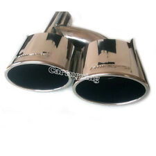 Stainless Steel Exhaust Tips Muffler Pipes for Mercedes W205 C300 C63 AMG 2014