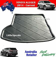 Toyota Kluger 2015 - Current Boot Liner Cargo Mat Trunk Protector - Black