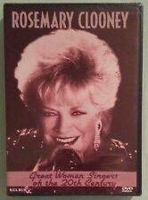 great women singers of the 20th century ROSEMARY CLOONEY  DVD NEW