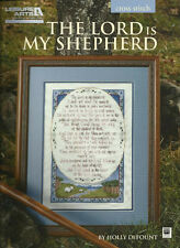 Psalm 23 THE LORD IS MY SHEPHERD - Inspirational Counted Cross Stitch Pattern