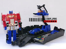 Transformers G1 OPTIMUS PRIME Re-issue Figure MISB Pearl Red Ver + Black Trailer