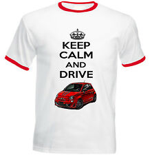 FIAT ABARTH 2015 INSPIRED KEEP CALM - NEW COTTON TSHIRT - ALL SIZES IN STOCK