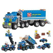 Child Educational Puzzle Toys Dumper Truck DIY Toys Assembly Building Block Sets