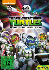 DVD * TEENAGE MUTANT NINJA TURTLES - FREMDE WELTEN - 4.1 # NEU OVP +