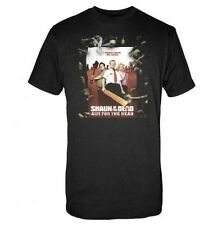 SHAUN OF THE DEAD 2004 Zombie Comedy Movie Mens Adult COTTON T SHIRT XL New