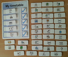 MY TIMETABLE ideal if your child is home taught   autism/SEN/ASPERGERS/ADHD