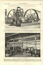 1896 Monsted Margarine Factory Southall Large Machinery Hall Ammonia Compressors