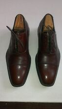 Taryn Rose Mens Brown Cap Toe Oxford Shoes 9.5C - Retails at over $350