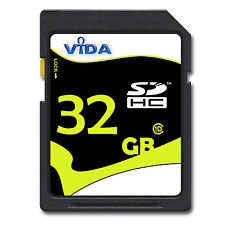 Vida IT 32GB SD SDHC Scheda di Memoria Class 10 UHS-1 Per Olympus SP-800 UZ
