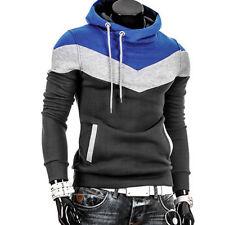 Men Retro Long Sleeve Hoodie Hooded Sweatshirt Tops Jacket Coat Outwear