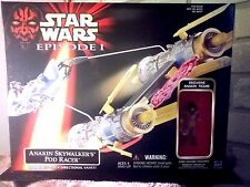 Star Wars Episode 1 Anakin Skywalker's Pod Racer w/Anakin Figure 1998 Hasbro