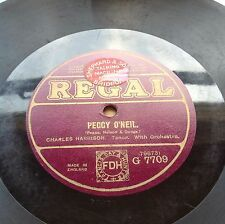 Charles Harrison Peggy O'Neil / Fred Douglas I Never Knew (Regal G7709)