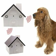 Outdoor Indoor Ultrasonic Dog Bark Control Anti Barking Device Silencer Stopper