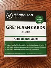 500 Essential Words: GRE Vocabulary Flash Cards by Manhattan Prep