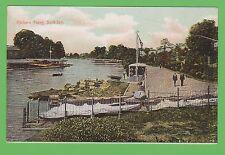 Vintage postcard. Parker's Ferry, Surbiton, Surrey, dated 1907.