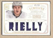 Morgan Rielly RT-RLY 2013-14 National Treasures Rookie Timeline Jersey 45/50