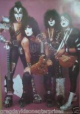 Kiss 24x35 Creatures Era Group Poster 1983 Eric Carr