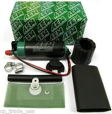 AEM 50-1200 HIGH FLOW E85 ETHANOL METHANOL FUEL PUMP UNIVERSAL 320 LPH 1000 HP