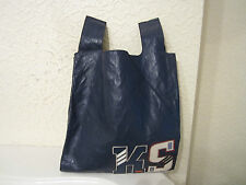 Prada Initials Blue Leather Shopping Bag