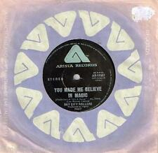 """BAY CITY ROLLERS - YOU MADE ME BELIEVE IN MAGIC - 7"""" 45 VINYL RECORD - 1977"""