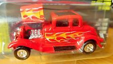 RACING CHAMPIONS 32 1932 FORD COUPE FLAMED HOT ROD MAG NHRA DRAG COLLECTIBLE CAR