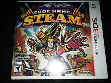 3DS Code Name S.T.E.A.M. Game |BRAND NEW SEALED Nintendo STEAM