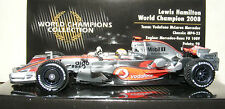 Lewis Hamilton Minichamps 1:43 McLaren MP4-23 World Champions Collection 2008