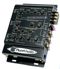 PLANET AUDIO EC20B 3-WAY ELECTRONIC CAR CROSSOVER REMOTE SUBWOOFER SUB BASS KNOB