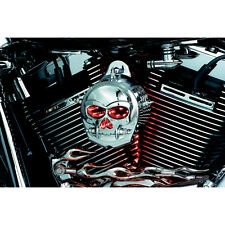 Kuryakyn 7719 Zombie Infinity Horn Cover for 1991-2014 Harley Big Twin & Cowbell