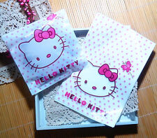 40pcs Big Size Cute Hello Kitty Bakery Handmade Gifts Non-Adhesive Plastic Bags