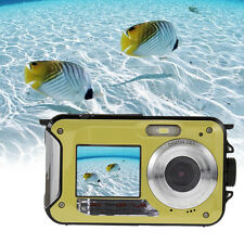 Double Screen HD 24MP Waterproof Digital Video Camera1080P DV 16X Zoom CMOS Cam