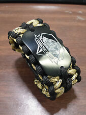 METAL GEAR SOLID DIAMOND DOGS Paracord Gamer Bracelet- handmade- para cord
