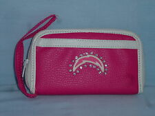 SAN DIEGO CHARGERS  Womens/Girls  PINK FASHION WALLET with Rhinestones  NEW!