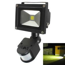 20W PIR Infrared Body Motion Sensor Waterproof LED Light  Landscape Flood Lamp