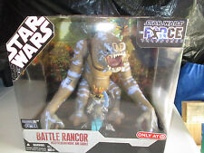 30th Anniversary Star Wars FORCE UNLEASHED BATTLE RANCOR opened