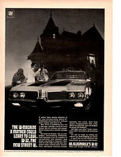 1969 OLDSMOBILE 4-4-2 / 442 / W-32  ~  ORIGINAL MUSCLE CAR AD  -  400/350-HP