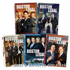 Boston Legal: Complete James Spader TV Series Seasons 1 2 3 4 5 Box/DVD Sets NEW