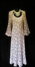 ANN BALON Lace Dress and Jacket Wedding Outfit Size 12 14 16 Mother of the Bride
