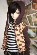 USA New BJD Hoodie Shirt Sweater Cardigan SD17 70cm Doll Outfit Clothes