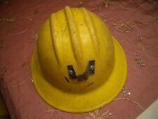 ANTIQUE COAL MINERS WIDE BRIM HARD HAT #2, EX