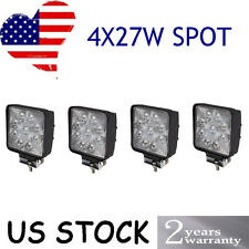 4X 27W Spot LED Work Light Lamp 12V 24V Tractor Truck Car SUV UTE Off-road USA