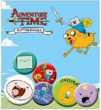 Adventure Time PIN Buttons 6-Pack Finn