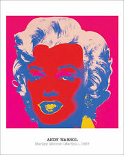 ANDY WARHOL - Marilyn Monroe, 1967 POP ART PRINT Offset Lithograph Poster 16x20