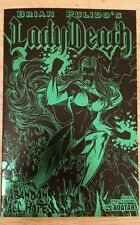 Brian Pulido's Lady Death Abandon All Hope leather cover
