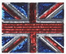 UK Flag: Sequin Patch
