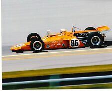 1971 Peter Revson McLaren M16A Indianapolis 500 Indy Pole Car   8 X 10 PHOTO 2